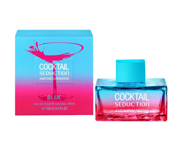 Antonio Banderas Cocktail Seduction Blue For Women 100 ml