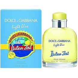 Dolce&Gabbana Light Blue Italian Zest Pour Homme 125